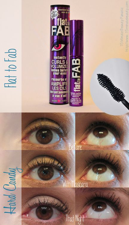 9f826516d93 Hard Candy Flat to Fab Mascara Review Mascara Guide: Reviews, Tips and  Other Lash