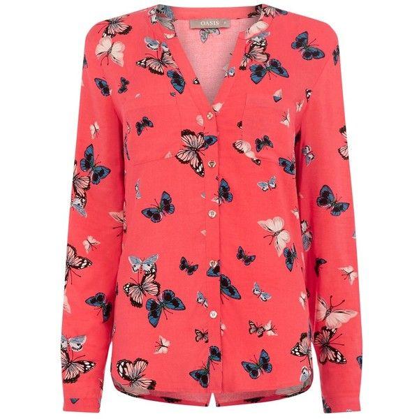 ed47e46256a83 Oasis Butterfly Shirt