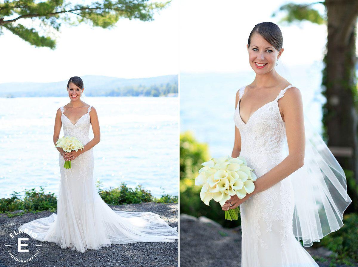 bridal bouquet, white calla lily bouquet #classicbouquet #fleurtaciousdesigns - Elario Photography