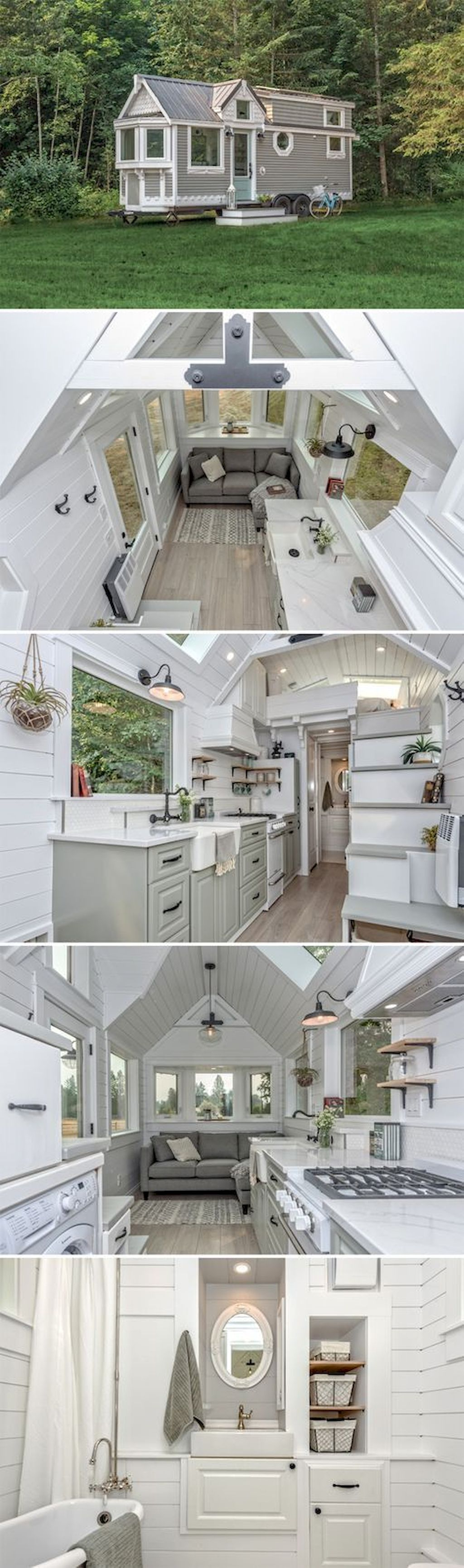 32 Smart Tiny House Ideas And Organizations With Images House Built House Tiny House Design