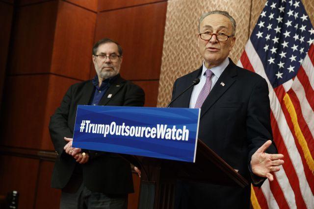 Democrats Help Launch Trump Outsource Watch