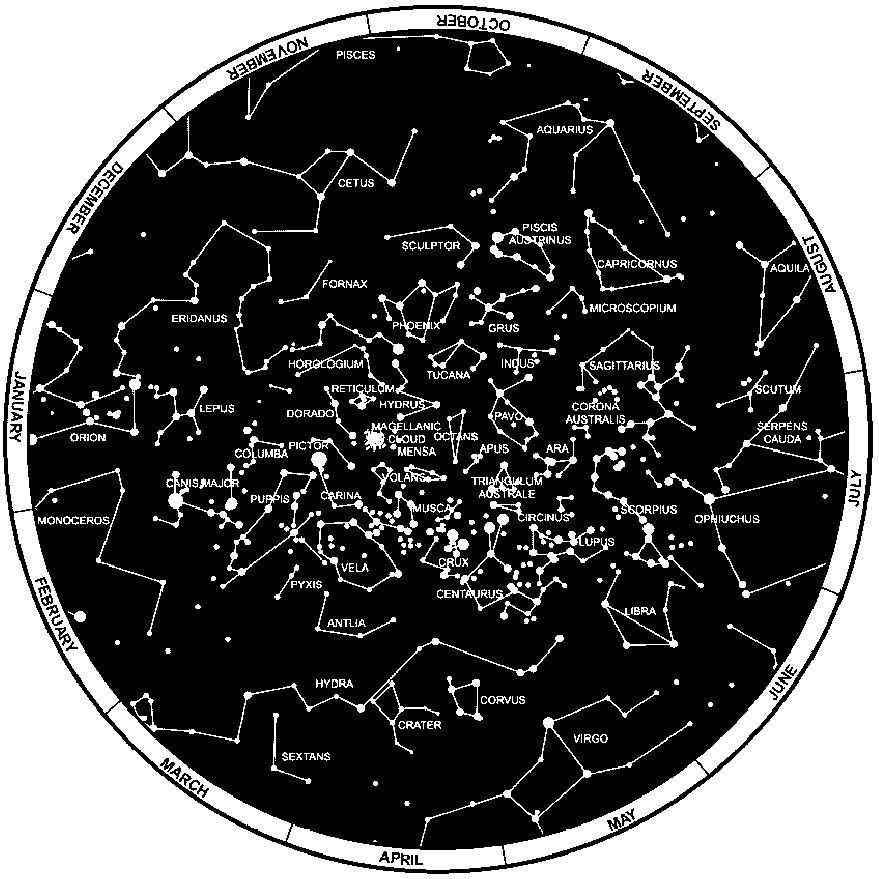 astronomy charts northern hemisphere - photo #42