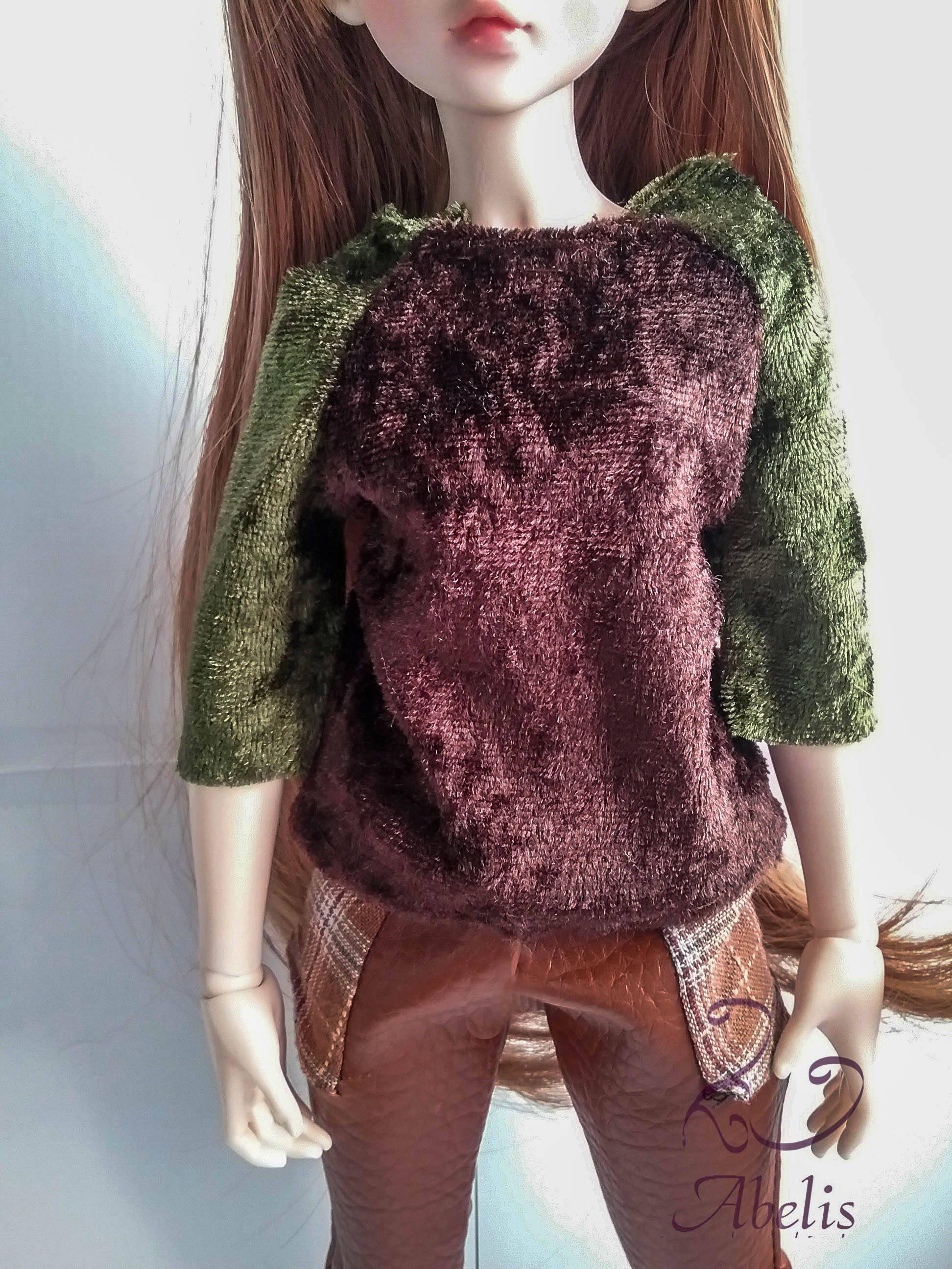 OOAK Kit costura ropa muñeca, Kit costura BJD, ropa BJD, camiseta ...