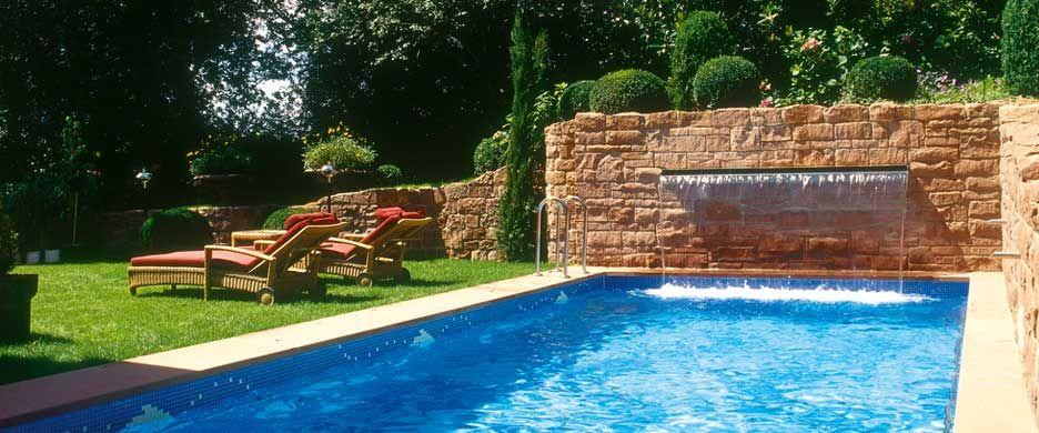 Nice Bildergebnis Für Swimmingpool Mit Wasserfall
