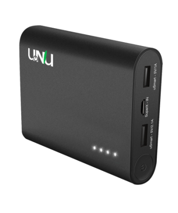 Unu Superpak 10 000mah 3 1a Portable Charger Apple Certified External Battery Pack With 2 In Portable Charger External Battery Pack Apple Ipad Accessories
