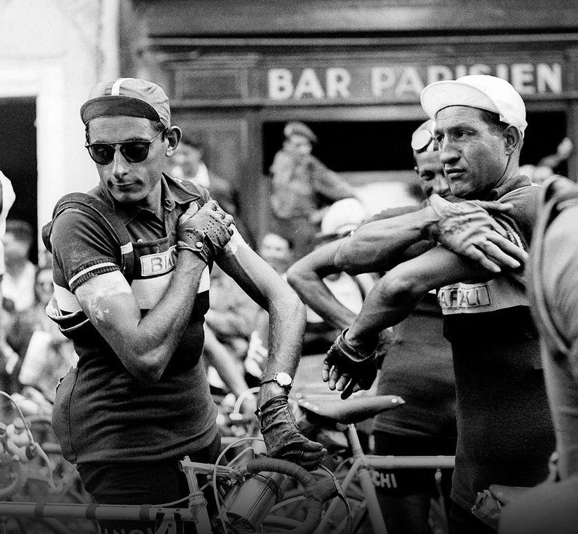 Fausto Coppi & Gino Bartali | Fotos, Bicicleta, Fantastico