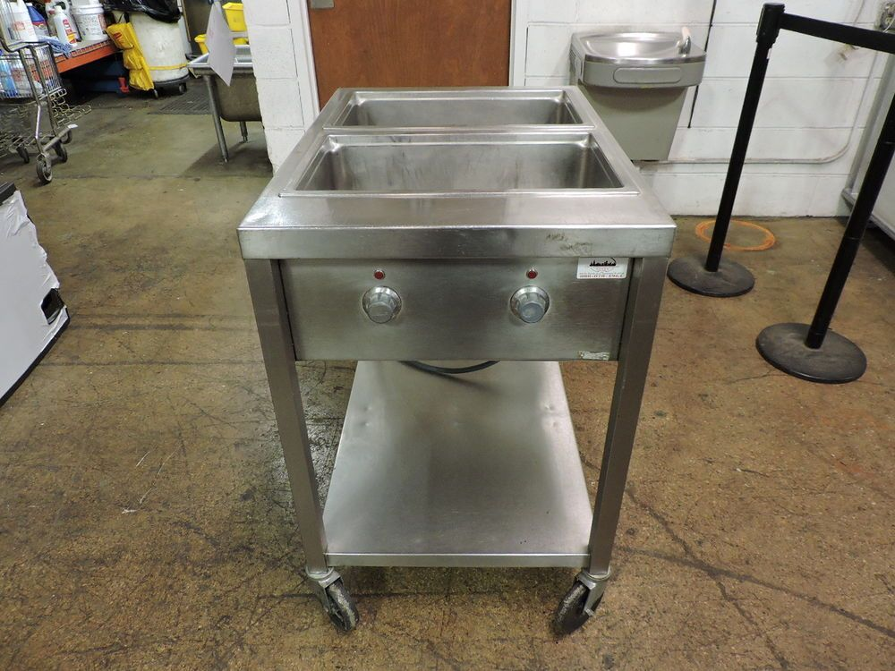 Wells Ss206td Commercial 2 Compartment Steam Table Steam Tables Restaurant Equipment Compartment