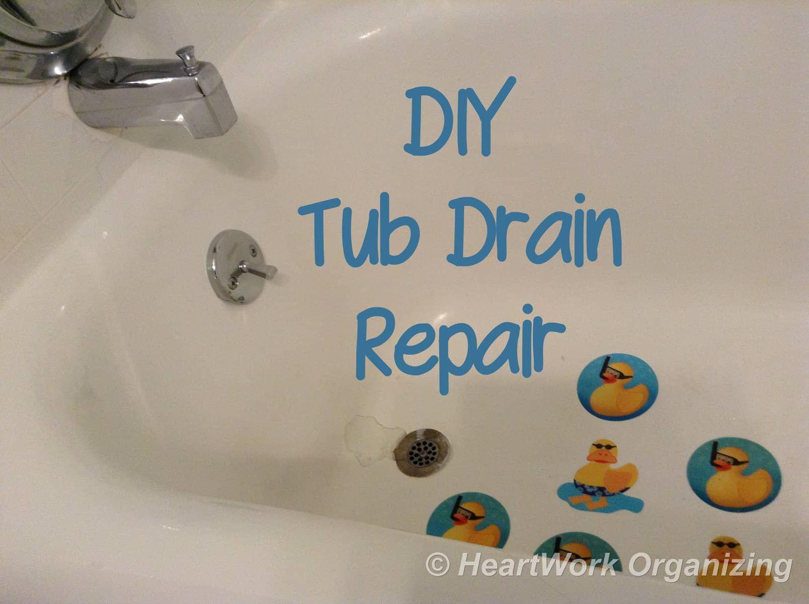 Diy Bathtub Drain Repair Diy Bathtub Drain Repair Bathtub Drain Stopper