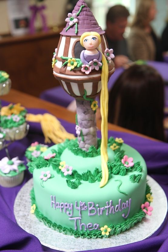 rapunzel birthday cake tesco Cakes Pinterest Rapunzel birthday