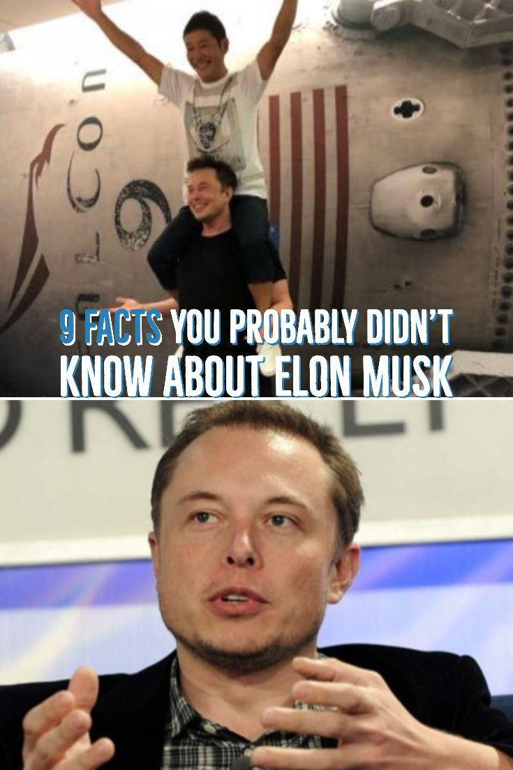 9 facts you probably didnt know about elon musk facts