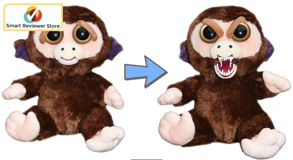 Feisty Pets Cute To Scary Stuffed Animal Plush Squeeze Toy Grandmaster Monkey Feistypets Pet Monkey Christmas Gifts For Pets Animal Dolls