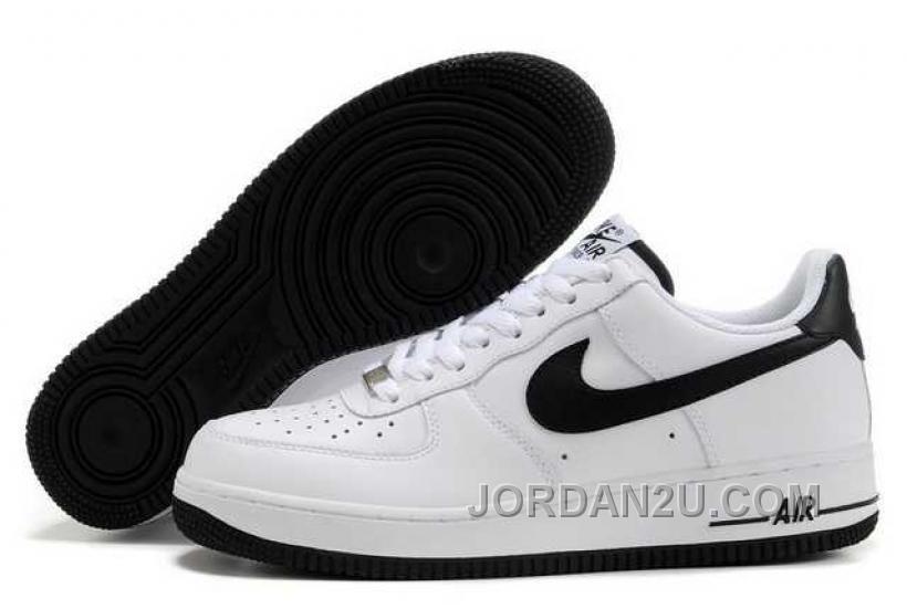hot sale online 6ec7e 86723 Nike Air Force 1 White Black 315122 147 half off