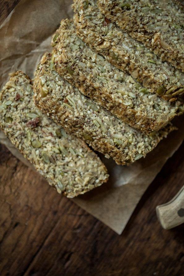Heather S Toasted Super Seed Power Bread Recipe Vegan Recipes Vegan Baking Bread Baking
