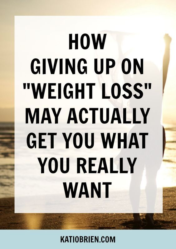 How Giving Up on Weight Loss May Actually Get You What You REALLY Want. Stop focusing on weight loss as your number one goal. There is a better way! 5 Tips on How to Give Up On Weight Loss and Ditch Dieting Forever!