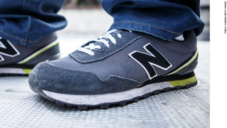 Customers burn New Balance shoes over Trump comments New