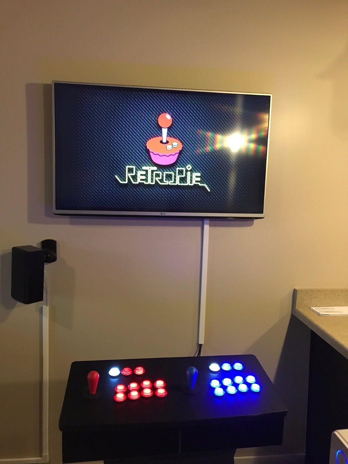 5,384 Game Arcade Setup! Retro Pie With 2 Player, 2 Joystick, 22