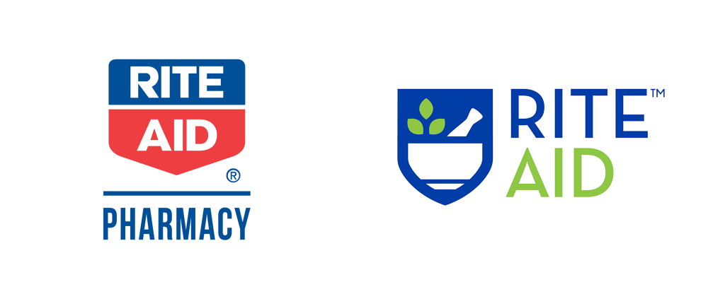 New Logo And Retail For Rite Aid Typography Branding Rite Aid Population Health Management