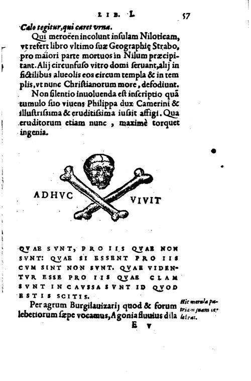 """""""Adhuc vivit"""", Memorabilium Gaudentii Merulae, 1556 #LivreAncien"""