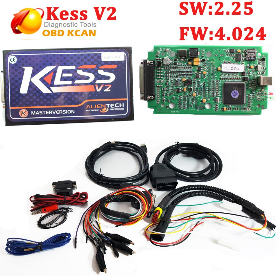 Best Truck Version KESS V2 V2 25 OBD2 ECU Chip Tunning