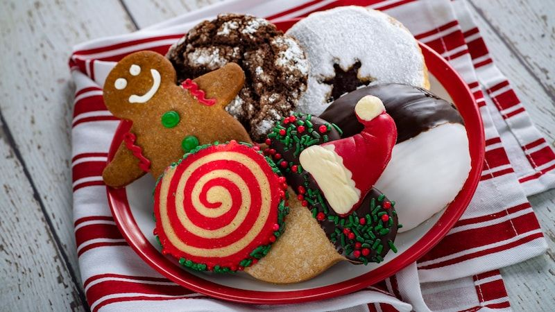 Holiday Cookie Stroll during Epcot International Festival