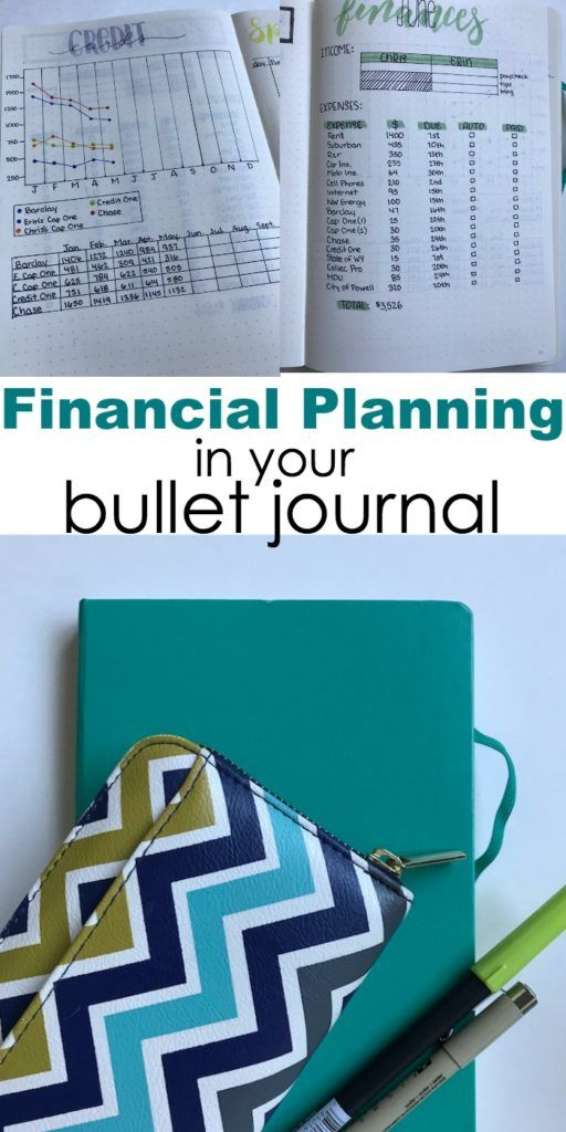 Financial Planning In Your Bullet Journal Gain Control Of