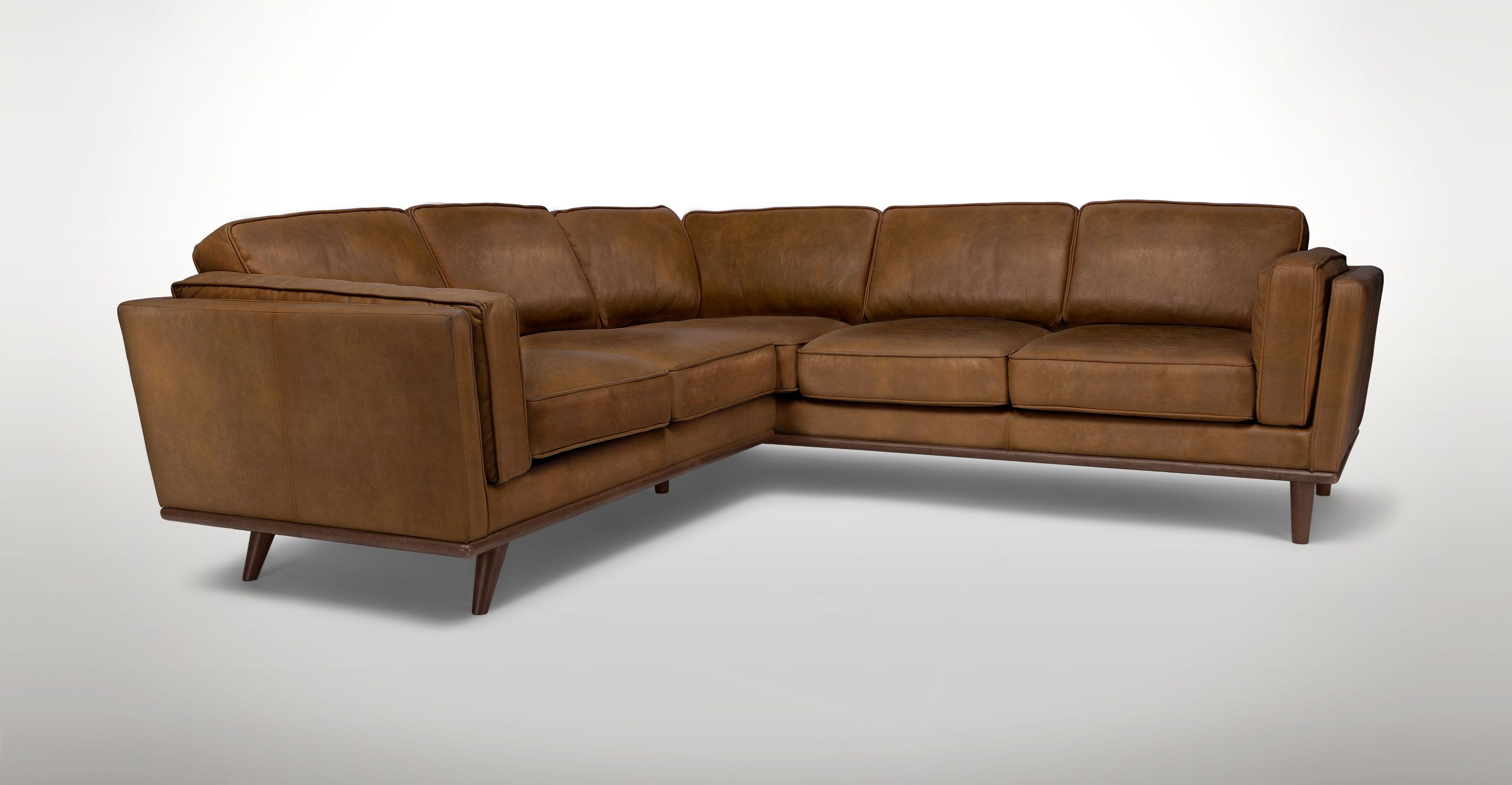Timber Oxford Tan Corner Sectional Corner Sectional Sectional