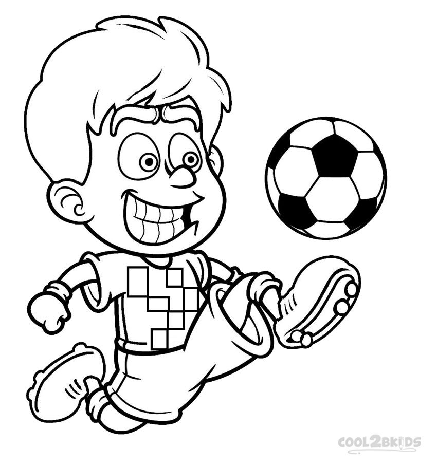 Football Player Coloring Pages (With images) Football