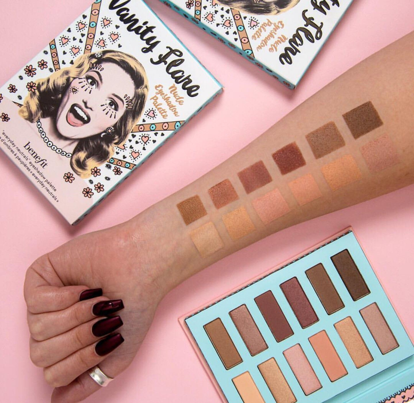Pin by Dina on makeup Benefit eyeshadow palette, Benefit