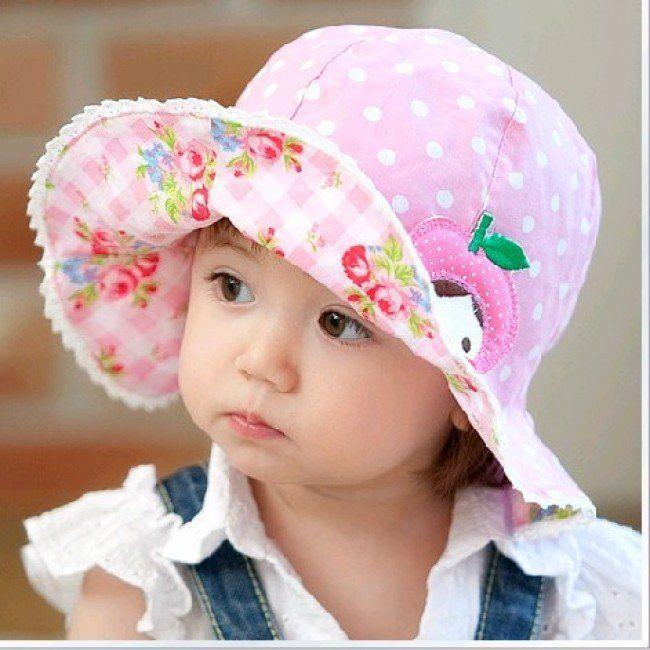 d1e8380bf1a Baby Girl Sun Hats