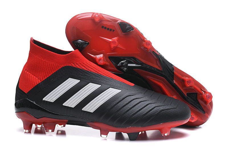 Unisex Soccer Cleats Adidas Predator 18+ FG 2018 Word Cup Solar Red Core  Black White Outlet 0ccc47a785914