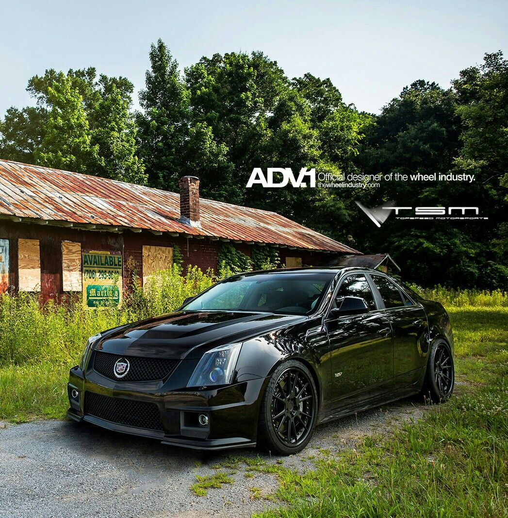 Cadillac cts v adv 1 wheels