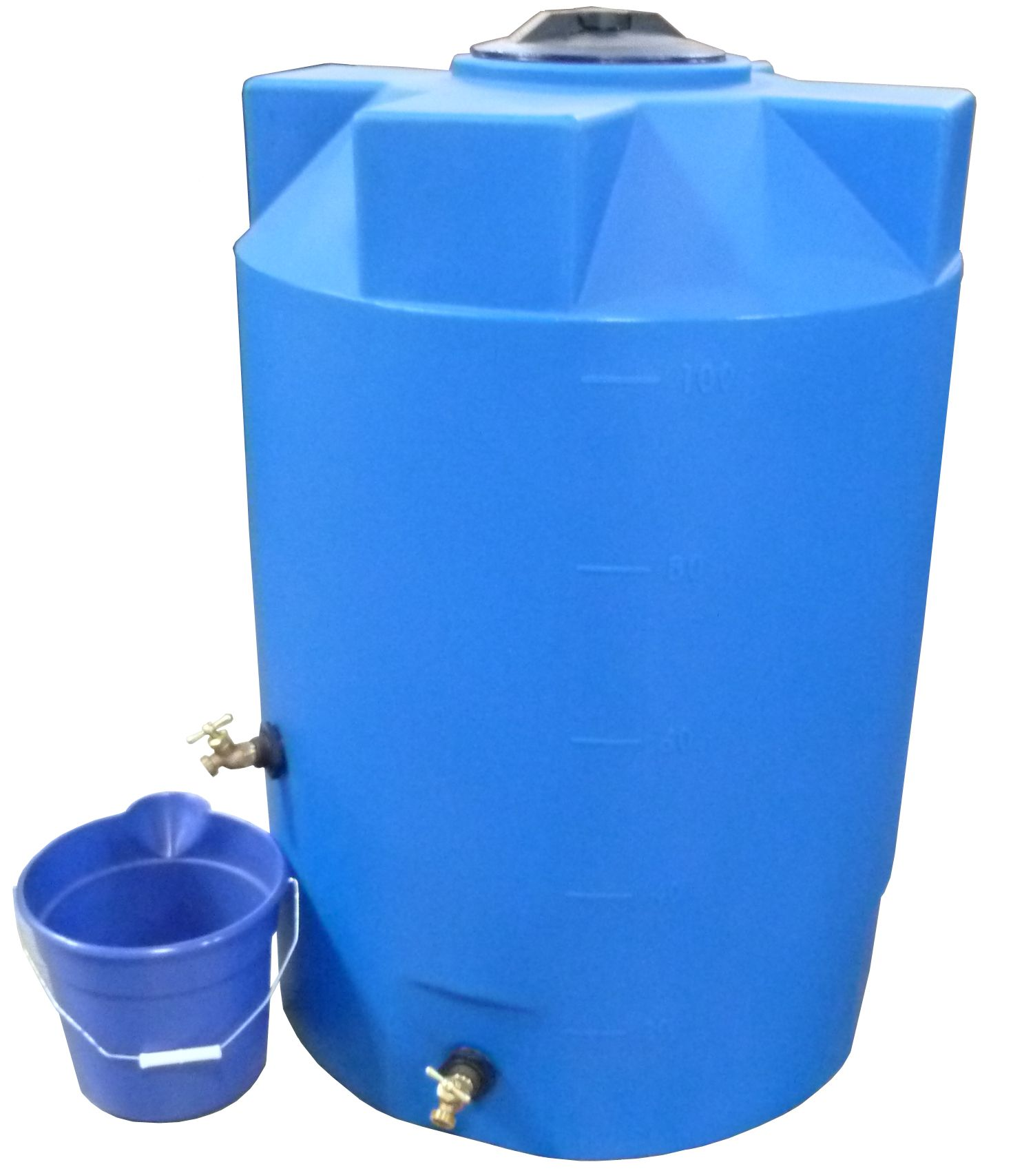 100 Gallon Emergency Water Storage Tank Light Blue Www Poly Mart Com Water Storage Water Storage Tanks Emergency Water
