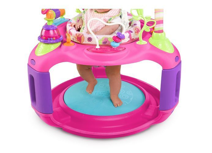 02b076e43 Bright Starts Baby Jumper Walker Bouncer Pink Exerciser ...