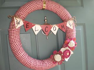 One Simple Country Girl: My Pool Noodle Wreath!