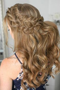 Easy Formal Hairstyles For Medium Hair | Haircut Ideas For Women With Long Hair | Hair Styles Up Dos 20191027 - October 27 2019 at 05:23AM #easyformalhairstyles