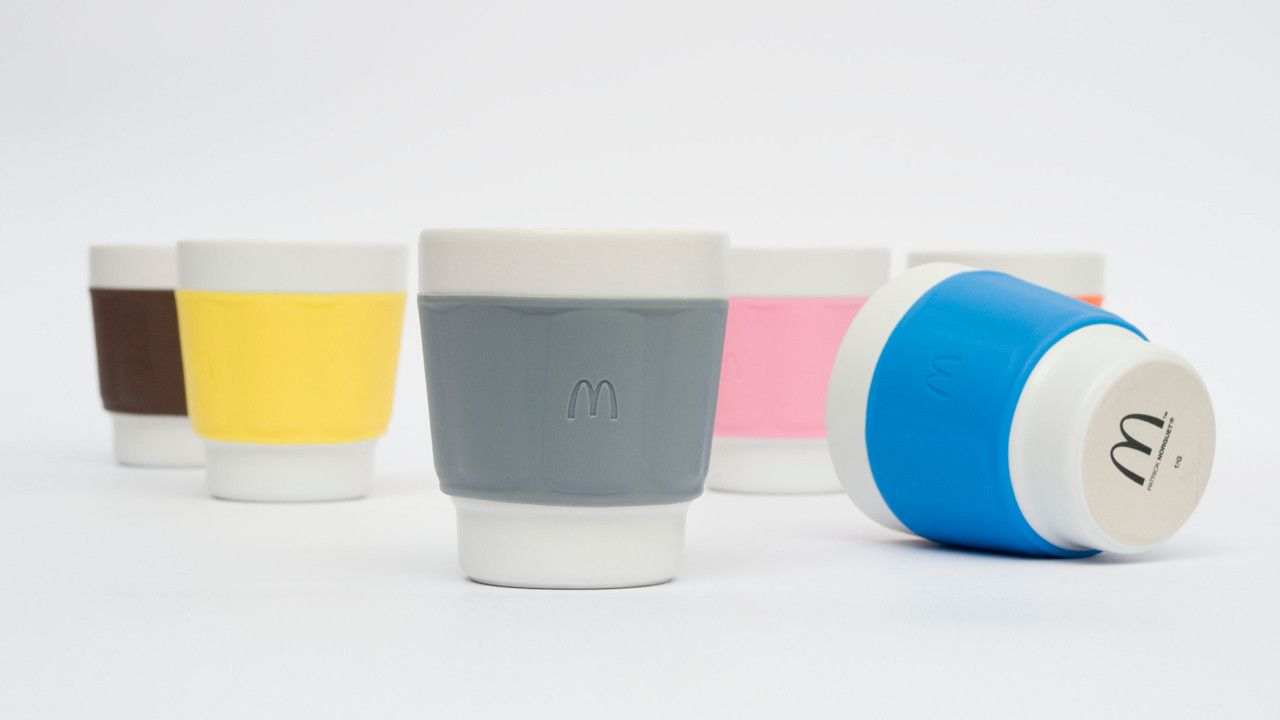 Check out this new cap from McDonald's that protects against hot coffee.