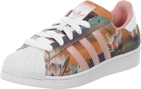 Passion Adidas Baskets W Blanc Superstar Chaussures Rose w7W7fXrq