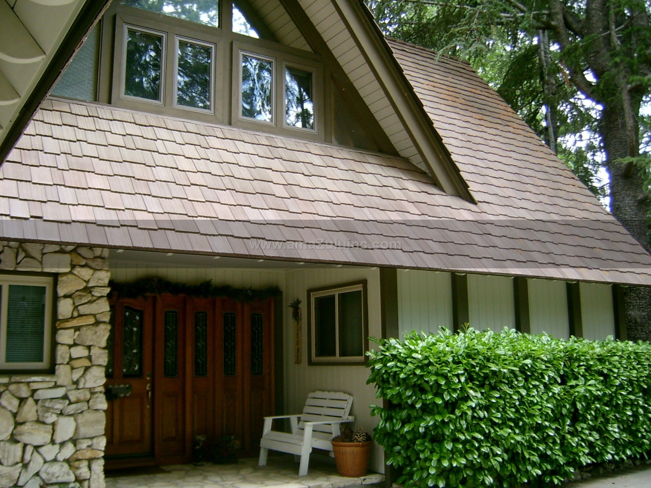 Best Faux Cedar Roof Tiles Faux Cedar Shake Tile In 2019 640 x 480