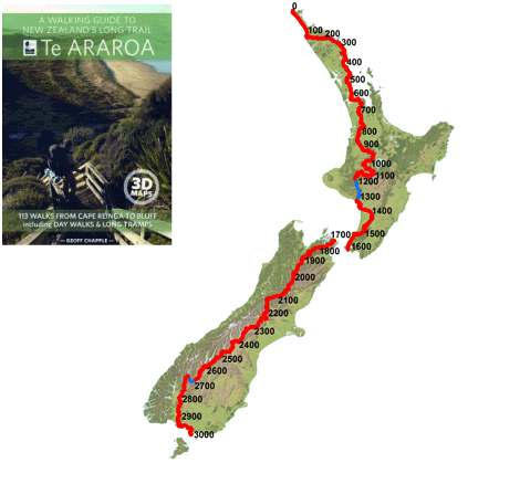 Te Araroa - New Zealand's Trail - Home | -Destinations- | Thru ... on
