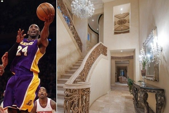 Kobe Bryant Sells California Mansion Mansion Prices Bryant Home