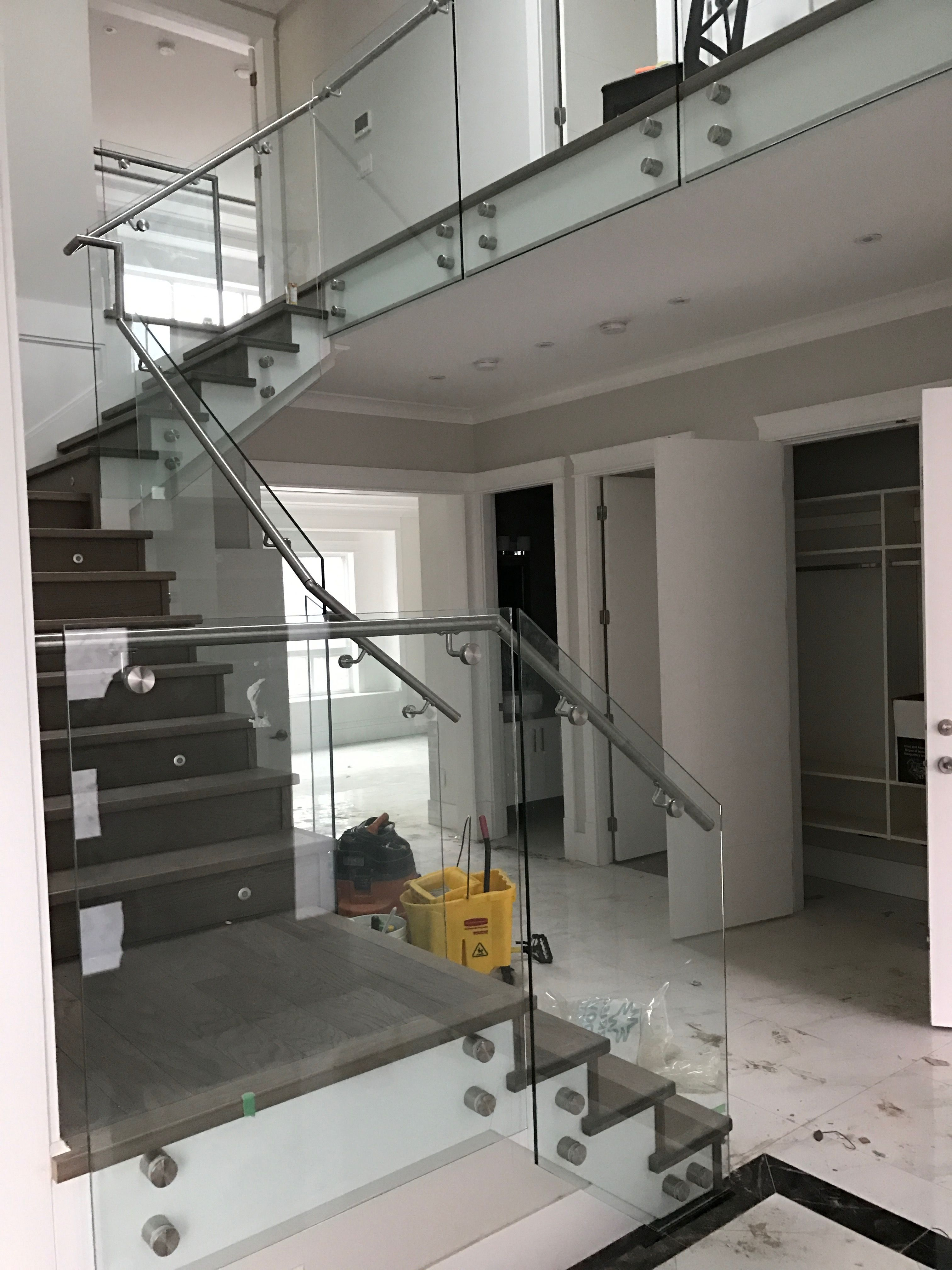 Pin by Perfect Railing & Awning Ltd on Frameless Glass