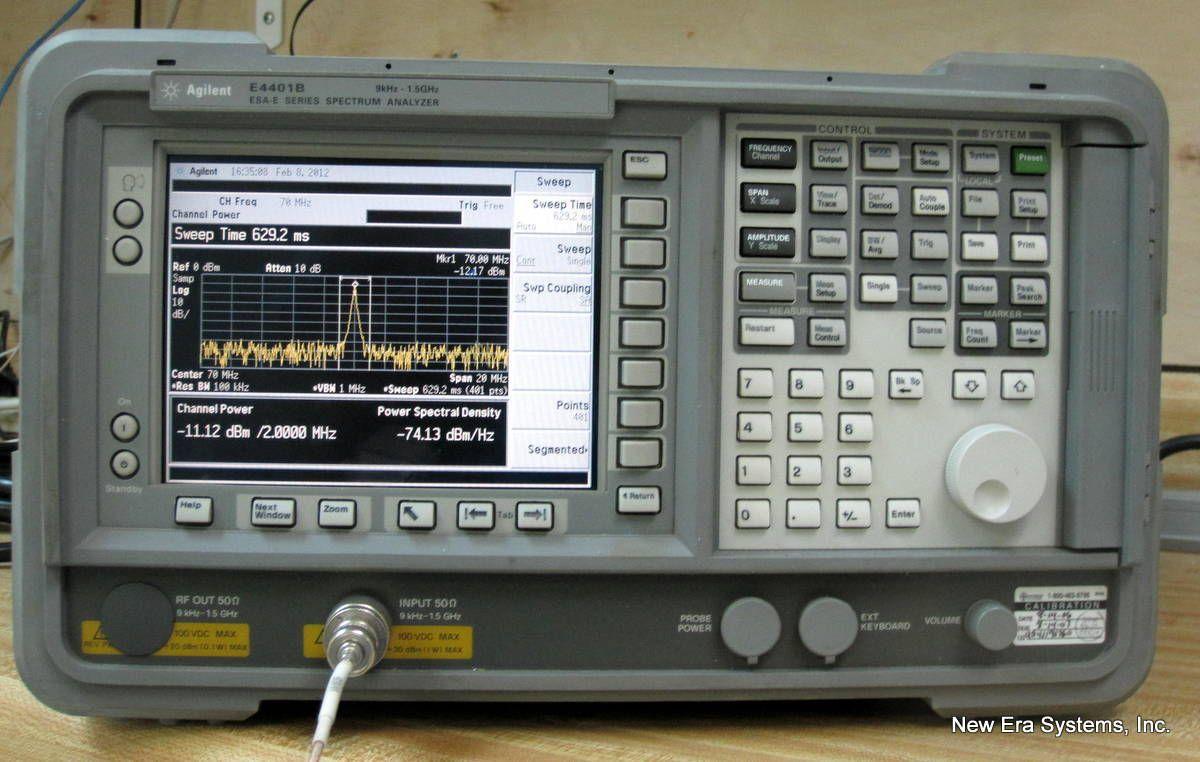 Agilent E4401B Spectrum analyzer, Office phone, Phone