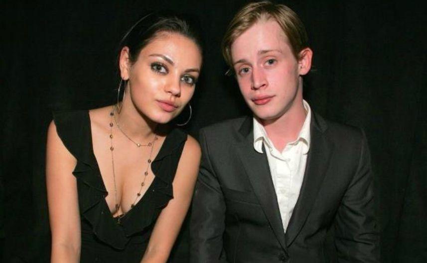 Mila and macaulay behind breakup