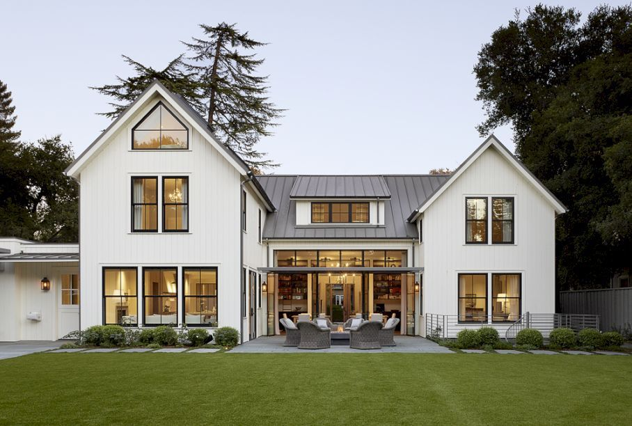 Modern farmhouse exterior design ideas 56 modern New farmhouse style