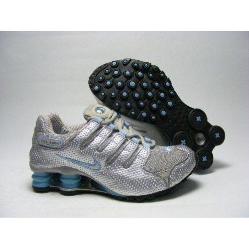 low priced 5d3c6 720ba Nike Shox NZ Silver Black Women Shoes  79.59
