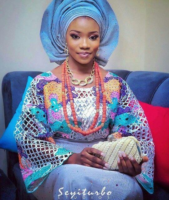 Awesome African Traditional Wedding Dress Yoruba