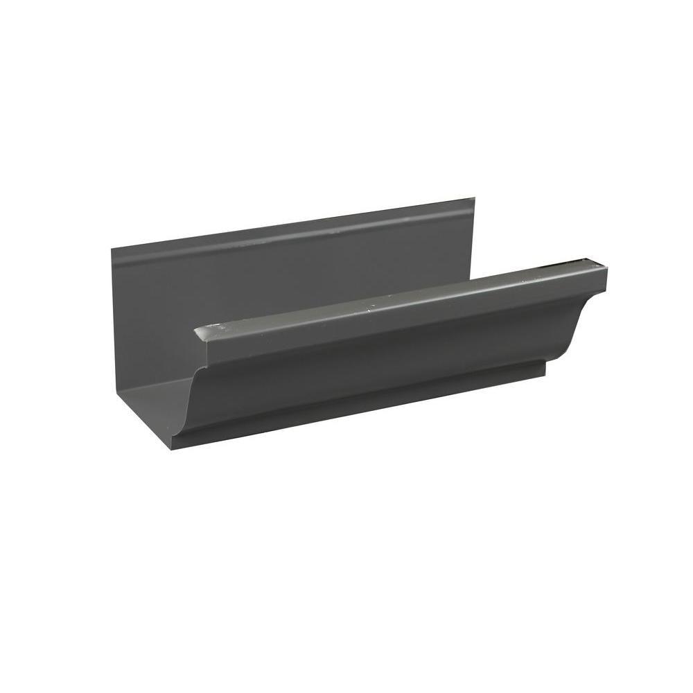 Best 5 In K Style Tuxedo Gray Aluminum Gutter By The Foot 400 x 300