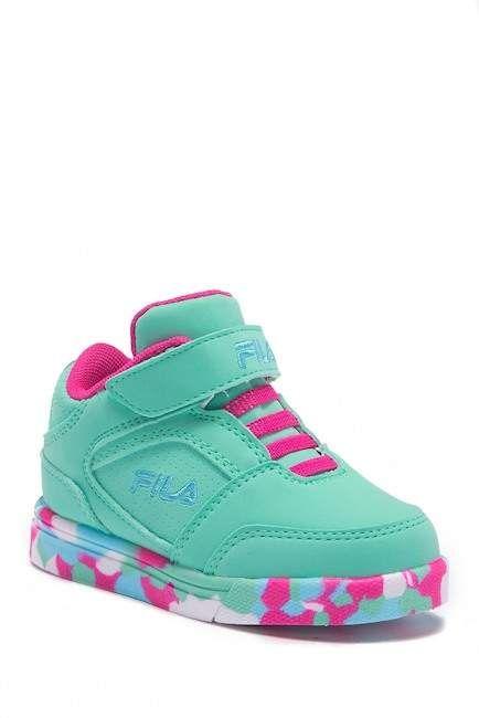 FILA USA Falina Mashup Athletic Shoe (Toddler) #shopping