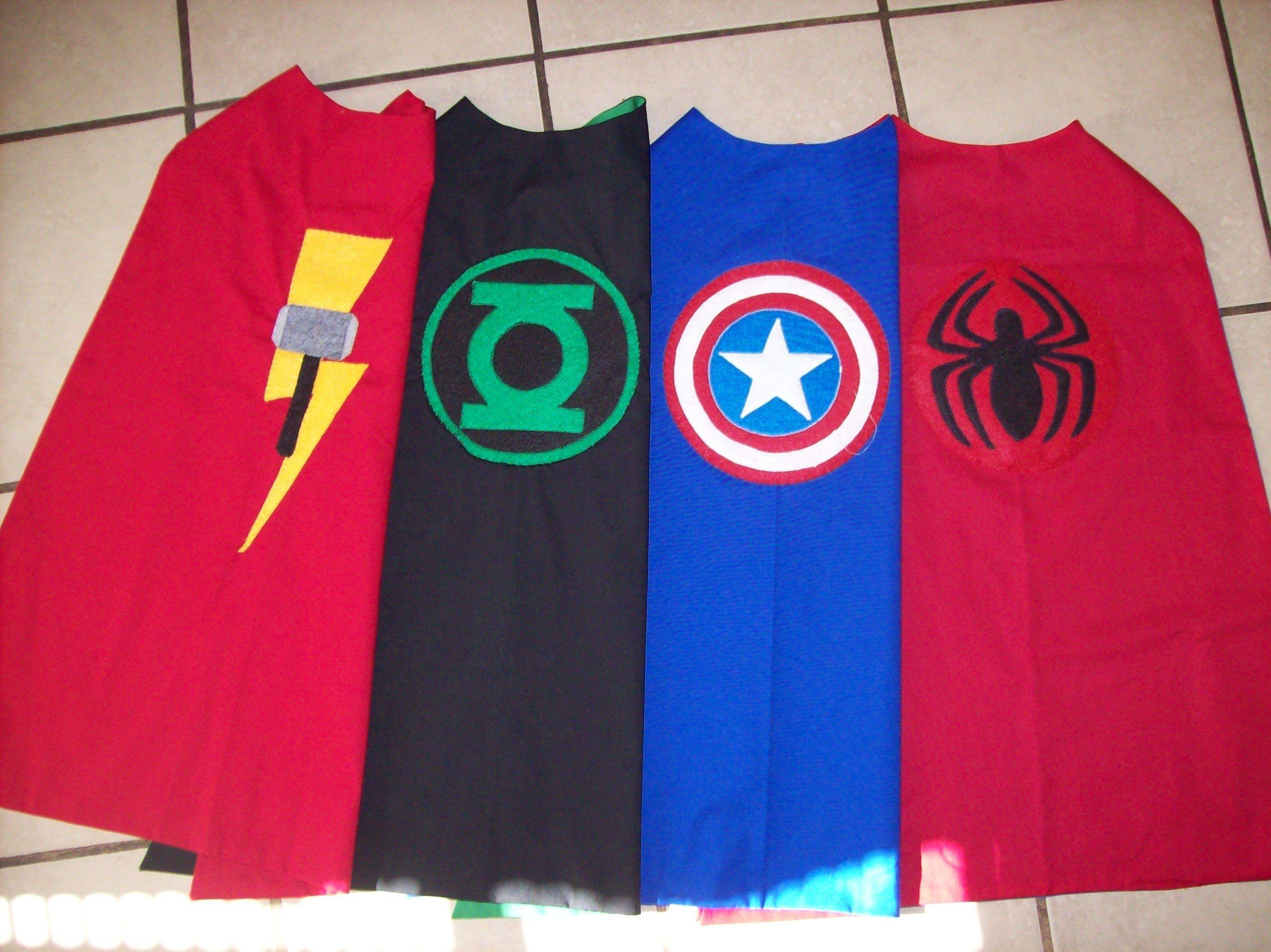 Superhero Cape Logo Tutorial Superhero Capes Pinterest