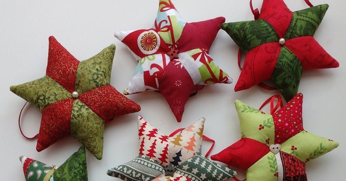 Stern und Stiefel nähen für Weihnachten | DIY | mit